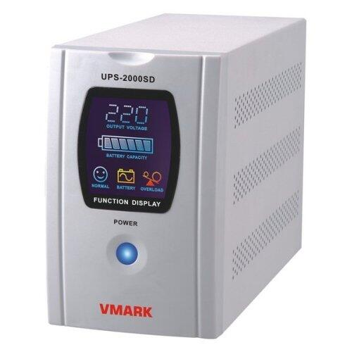 UPS UPS-2000SD - 2000VA, back-up 8 minute, LCD