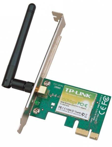 Placa de retea wireless TP-LINK TL-WN781ND, 150 MBps, PCIe