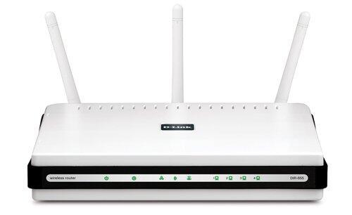 Router DIR-655 - 4 porturi, Wireless
