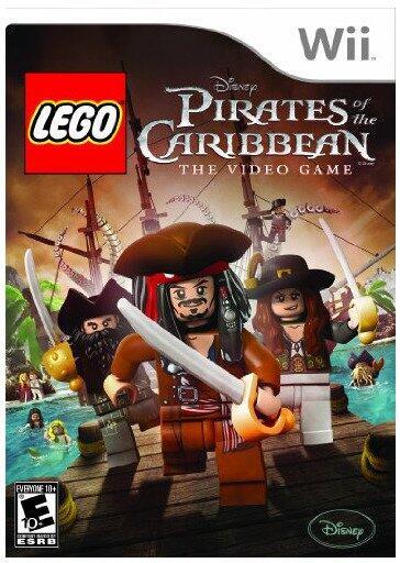Joc consola LEGO Pirates of the Caribbean pentru Wii