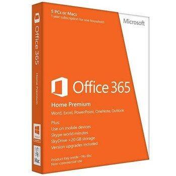 Suita office Office 2013, 365 Home Premium 32-bit/x64, Romana
