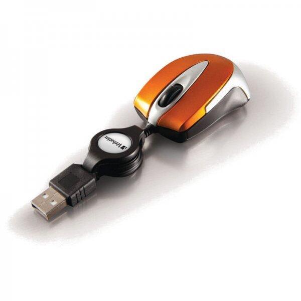 Mouse Go Mini Optical Travel Mouse - Volcanic Orange