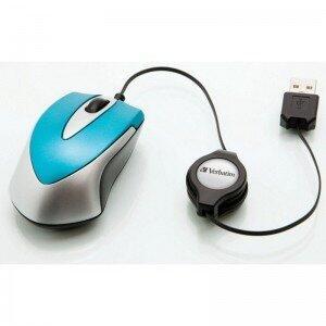 Mouse Optic Mini Travel (Albastru)