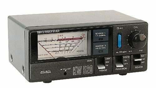 Reflectometru KW 520 pentru acordare antene 1W - 5W - 20W - 200W - 400W