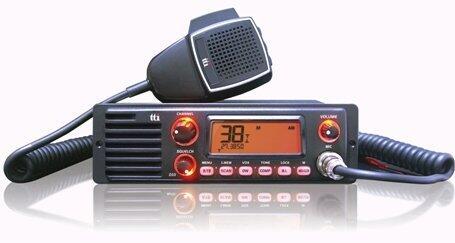 Statie radio CB TCB-1100 cu VOX si difuzor frontal, 10W pentru Export
