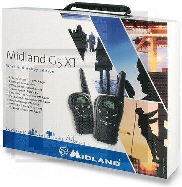 Statie radio G5 XT Valibox, set cu 2 bucati, portabila