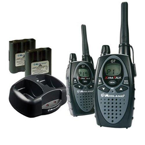 Statie radio G7 XT, PMR si LPD, set 2 bucati, portabila