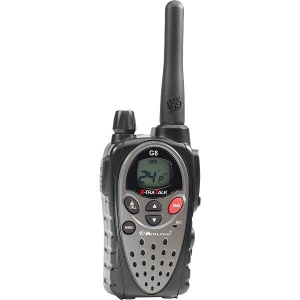 Statie radio G8 PMR446+LPD, 1 buc in colet cu incarcator si acumulator