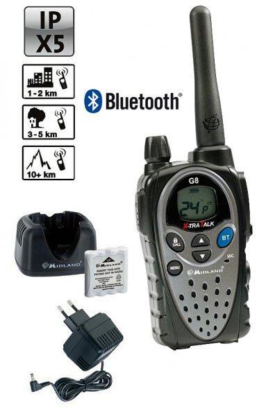 Statie radio G8E-BT cu Bluetooth, dedicata motociclistilor