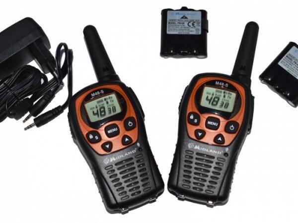 Statie radio portabila M48-S set cu 2bc, PMR,
