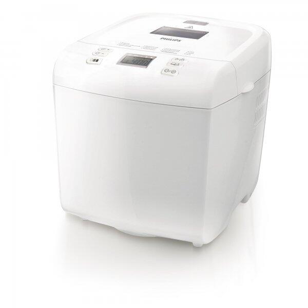 Masina de paine HD9015/30, 12 programe, 1 kg, alb