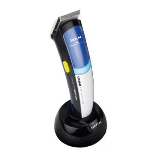 Aparat de barbierit Urban Trimming, Pentru barba si mustata, Putere 7W, Autonomie 45 min, Negru/Albastru