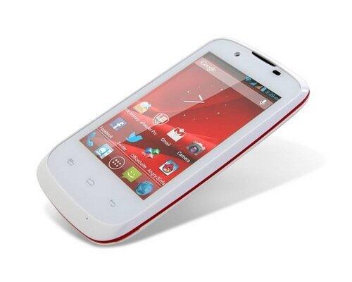 Telefon mobil MultiPhone 3540 DUO, alb
