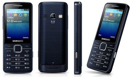 Telefon mobil Samsung S5610, Negru