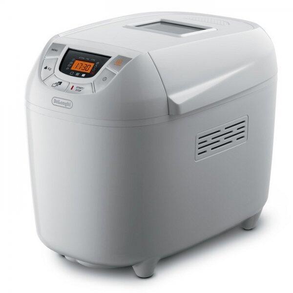 Masina de paine DeLonghi BDM 1500, 900 W, 14 programe, Alba