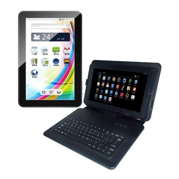 Tableta S102TAB, 8GB, 10.1 inch, Android 4.2.2 + husa cu tastatura