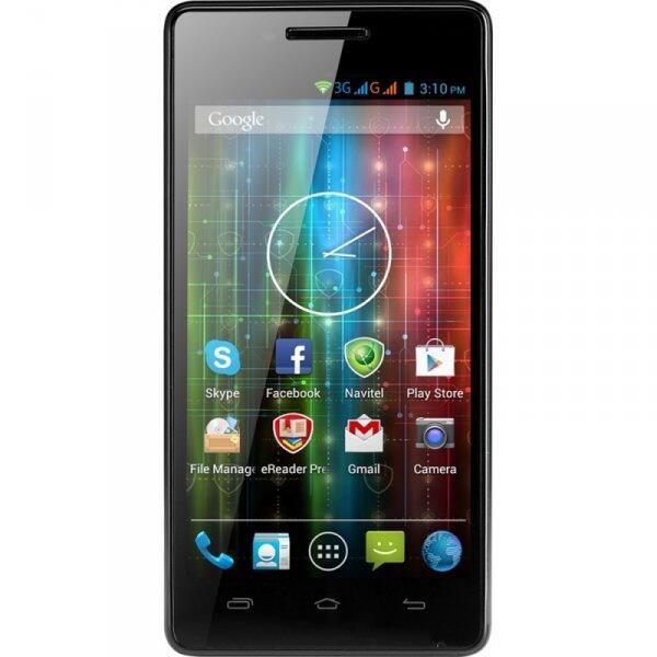 Telefon mobil Dual-Sim MultiPhone 5450 Duo Negru