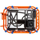 Carcasa In Win D-Frame Orange Open-Air Chassis