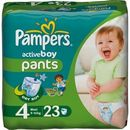 PAMPERS Scutece Active Boy 4 Maxi Carry Pack 23 buc