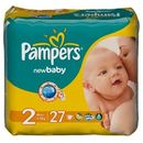 PAMPERS Scutece New Baby 2 Mini Regular Pack 27 buc