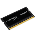 Kingston Memorie RAM HyperX Impact, DDR3, SODIMM, 8 GB, 2133 MHz, CL11, 1.35V, unbuffered