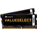 Corsair Memorie RAM Value Select, SODIMM, DDR4, 2x4 GB, 2133 MHz, CL15, 1.2V, kit