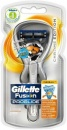 Aparat de barbierit GILLETTE Fusion Proglide Chrome manual Flexball 2 rezerve