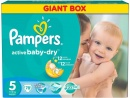 PAMPERS Scutece Active Baby 5 Junior Giant Pack, 78 bucati