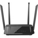 D-Link ROUTER AC1200, DUAL-B ,USB, CLD BK