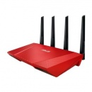 WLAN Router wireless 2400mb Asus RT-AC87U RED