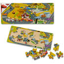 BRIMAREX Puzzle mozaic Cars-A, +2 ani, 21 piese