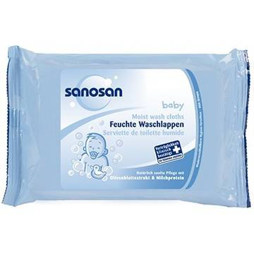 Sanosan Moist Wash Cloths