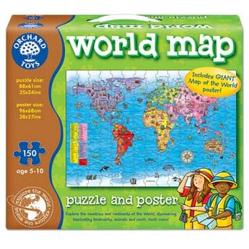 Orchard Toys World Map