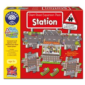 Orchard Toys Giant Road Expansion Pack Station