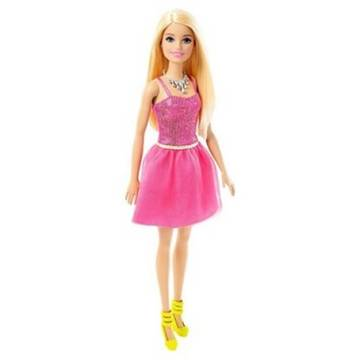 MATTEL Barbie BRB Glitz Pink Dress