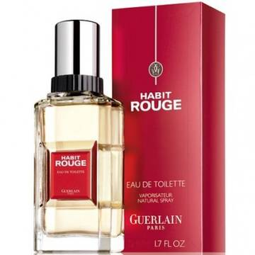Guerlain Habit Rouge Eau de Toilette 50ml