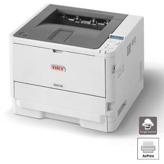 Imprimanta laser OKI Printer B512dn